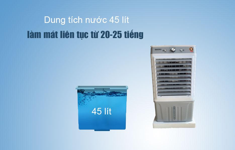 Thời gian dùng quat hơi nước